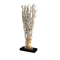 Unique Modern Designer driftwood halogen Floor Lamp/Light ...