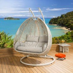 Hanging Chair Luxury Cover Rentals Thunder Bay Outdoor 2 Person Garden Pod Swing