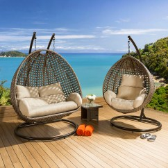 Hanging Garden Pod Chair Uk Best Massage Chairs For Sale Outdoor Single And Double Set