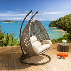 Hanging Garden Pod Chair Uk Design Research Outdoor Single And Double Set