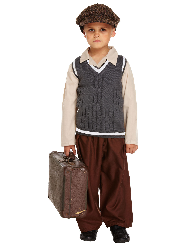 Boy S Ww2 Evacuee Costume