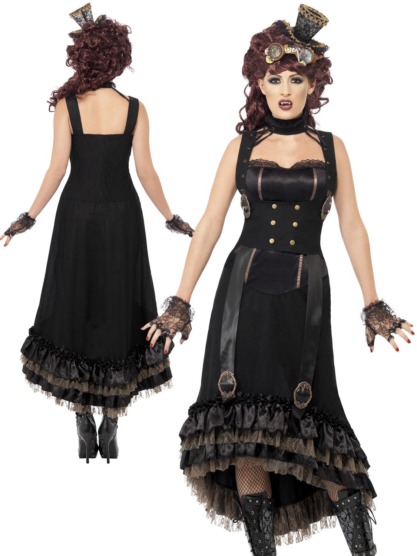 La S Steam Punk Vamp Costume