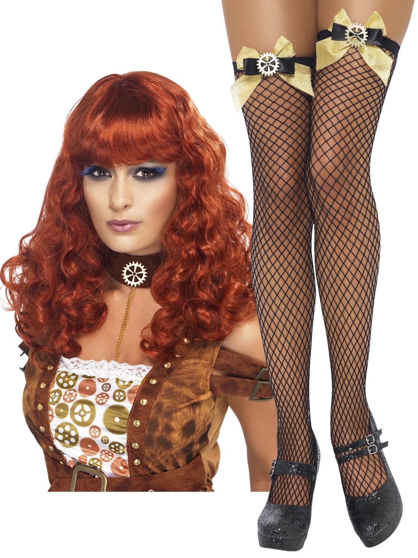 La S Steam Punk Adult Accessories Stockings Wig