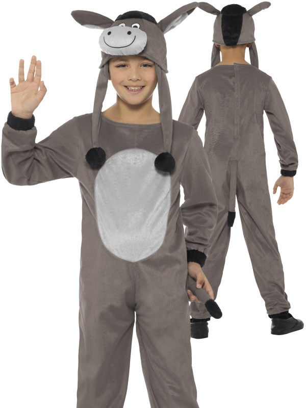 Child' Deluxe Cosy Donkey Costume Children Fancy