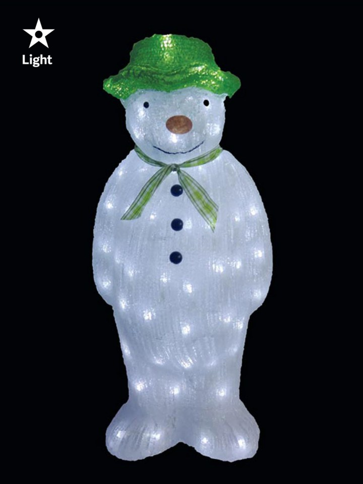 Holiday Time Light Up Santa Christmas Decoration Indoor Or Outdoor
