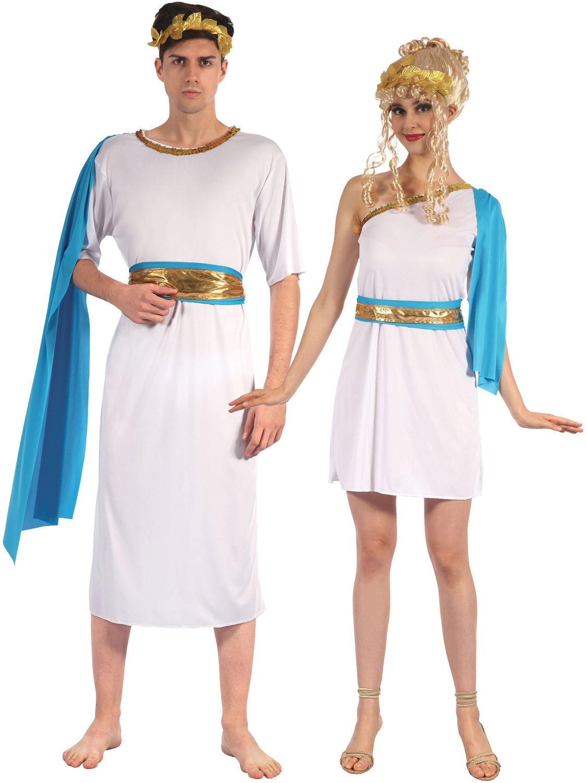 Mens La S Greek God Goddess Costume Roman Toga Fancy
