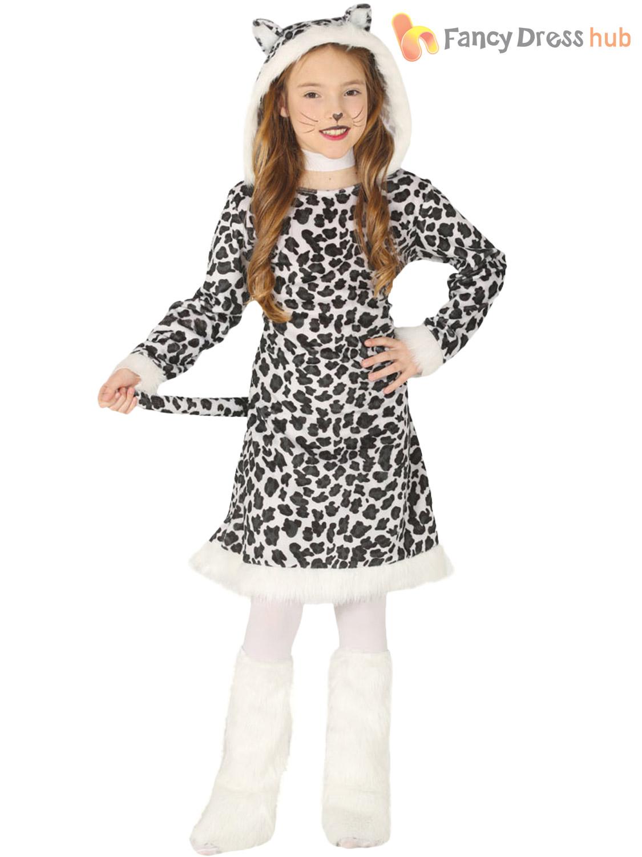 Childs Wild Animal Costume Boys Girls Jungle Fancy Dress
