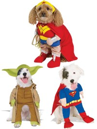 Fancy Dress Costume For Pet Dog - Yoda, Superman ...