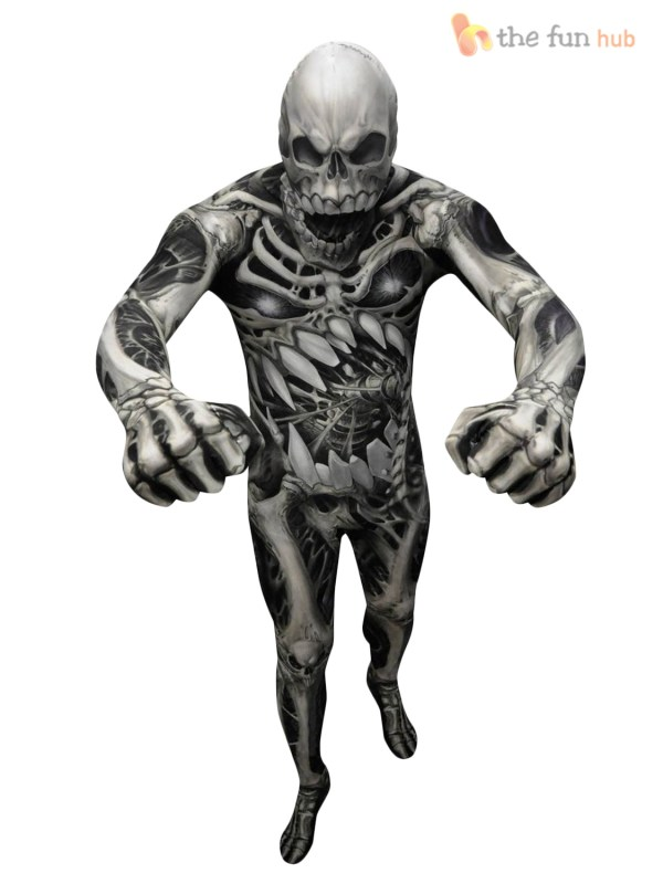 Morphsuit Monster Kids Boys Robot Zombie Halloween Fancy