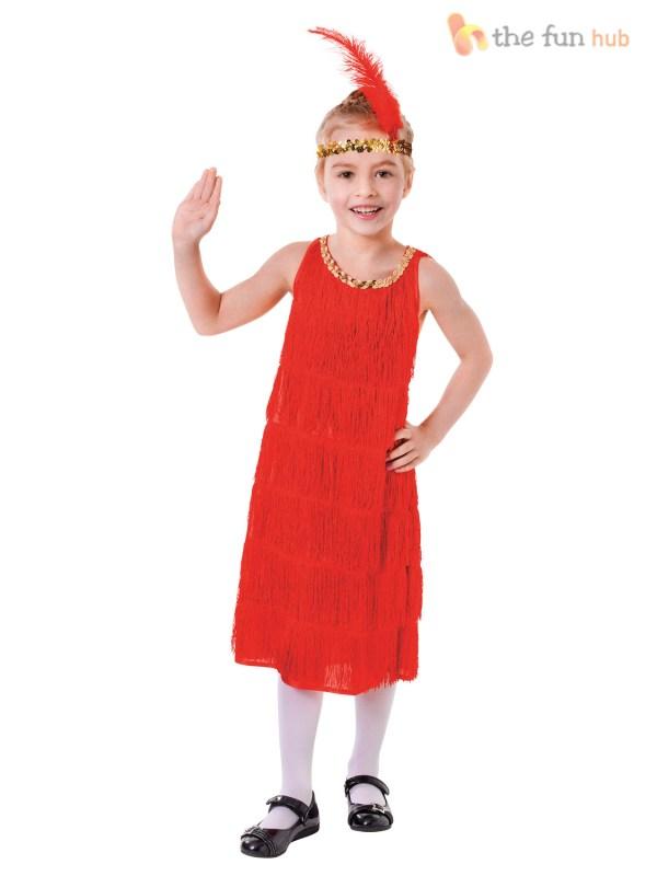1920s Costume Flapper Fancy Dress