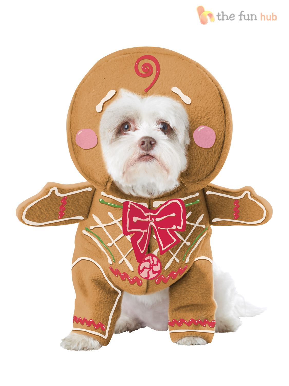 Dog Christmas Fancy Dress Costumes Santa Elf Funny Pet Cat