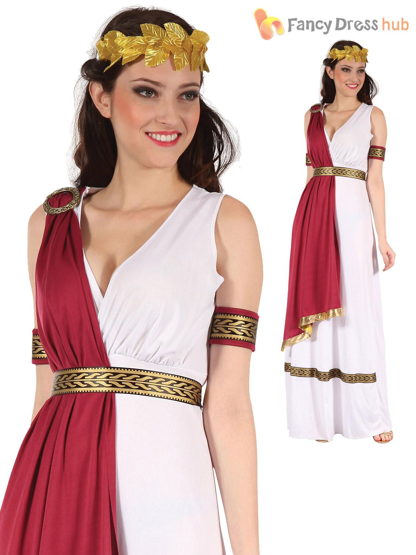 Mens La S Roman God Goddess Toga Caesar Venus Fancy