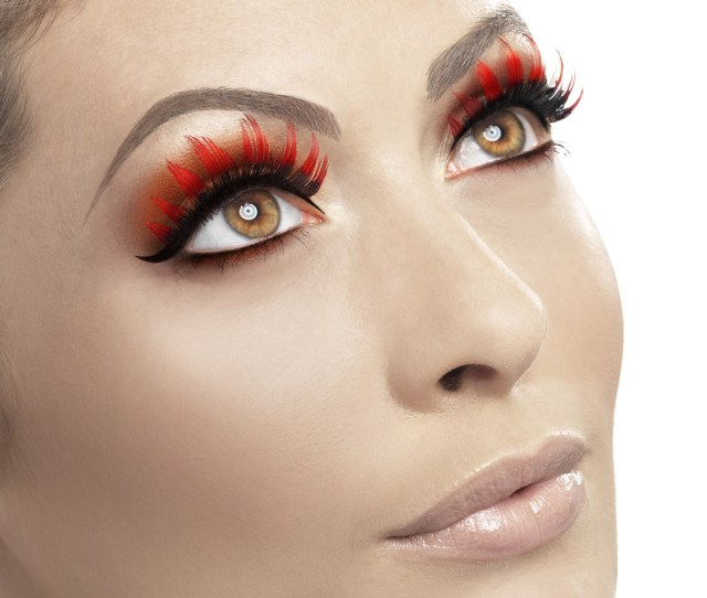 Fever False Fake Eyelashes Lashes Halloween Fancy Dress