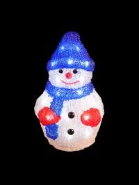 Light Up Acrylic Santa Snowman Reindeer Christmas Outdoor ...