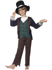 Boy's Poor Victorian Costume | All Children | Fancy Dress Hub