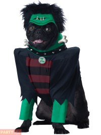 Frankenpup Bride Dog Costume Halloween Fancy Dress Pup Pet ...
