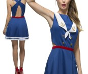 nautical theme dress