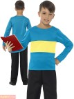 Boys Yellow Blue Outfit