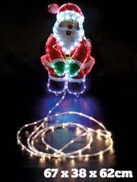 Large Christmas Rope Light Outdoor Garden Decoration Xmas ...