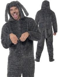 Adults Fluffy Dog Costume | Animal | Fancy Dress Hub