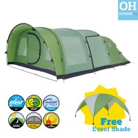 Coleman Valdes Tent FastPitch Air Inflatable Family 4 6 6L ...