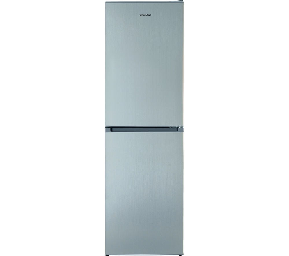 hight resolution of daewoo dff470ss 50 fridge freezer silver