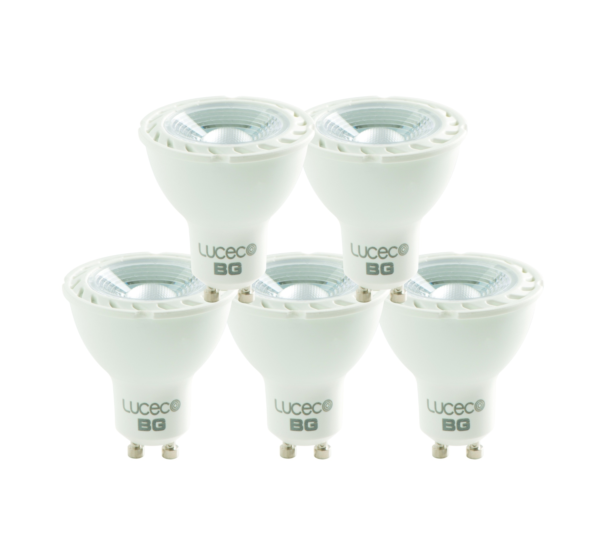 Luceco LED GU10 Dimmable 4000K 5W 370lm Bulb Natural Light