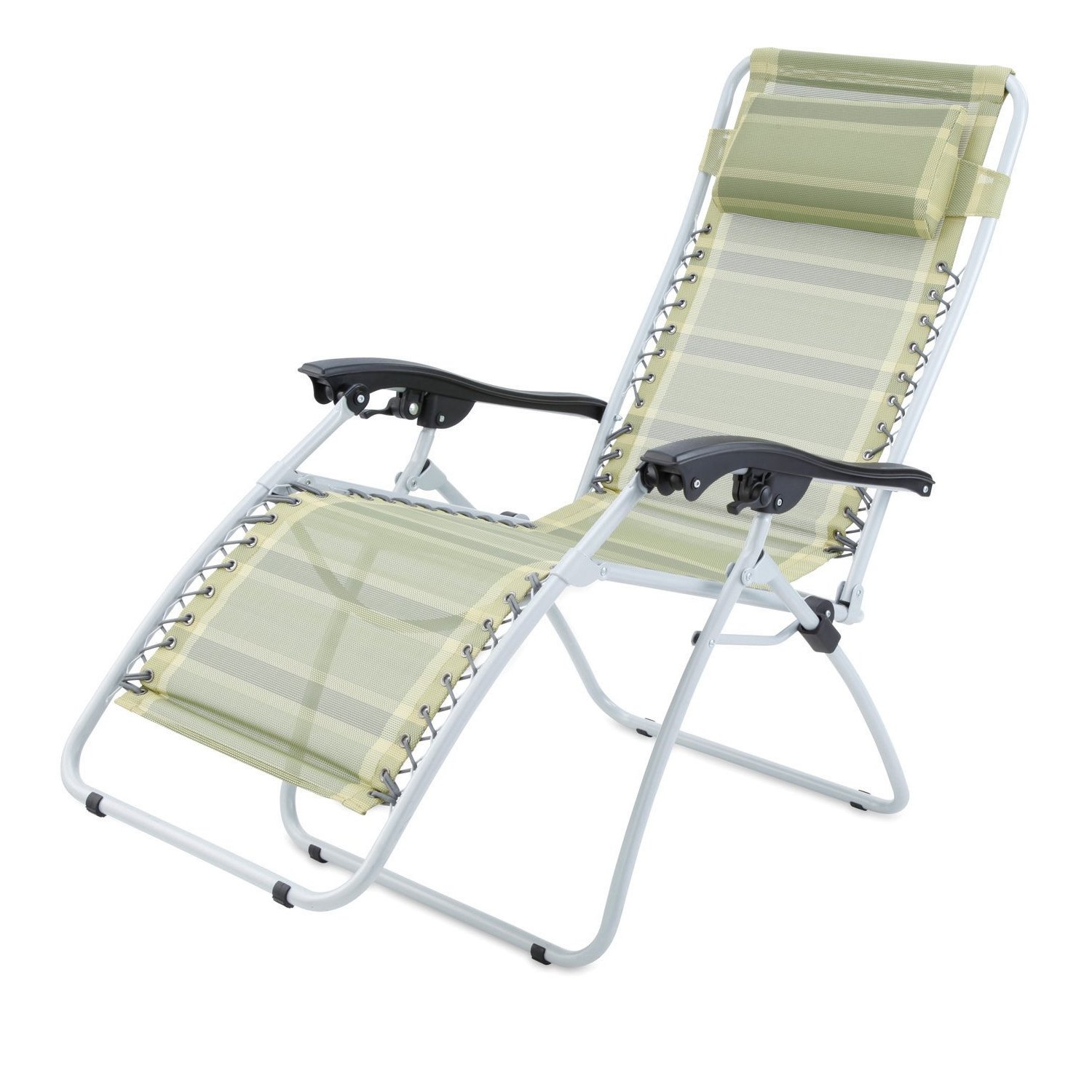 Deluxe Camping Chairs Gelert Mapleton Deluxe Reclining Sun Lounger Camping