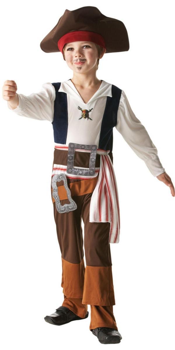 Captain Jack Sparrow Costume Boys
