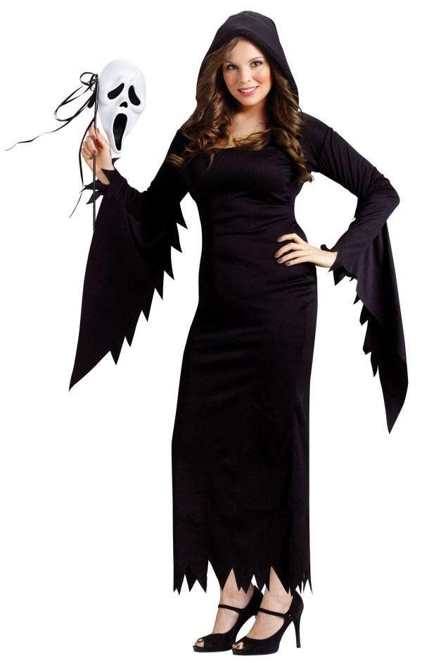 Scream Ladies Plus Size Ladies Halloween Horror Film Fancy