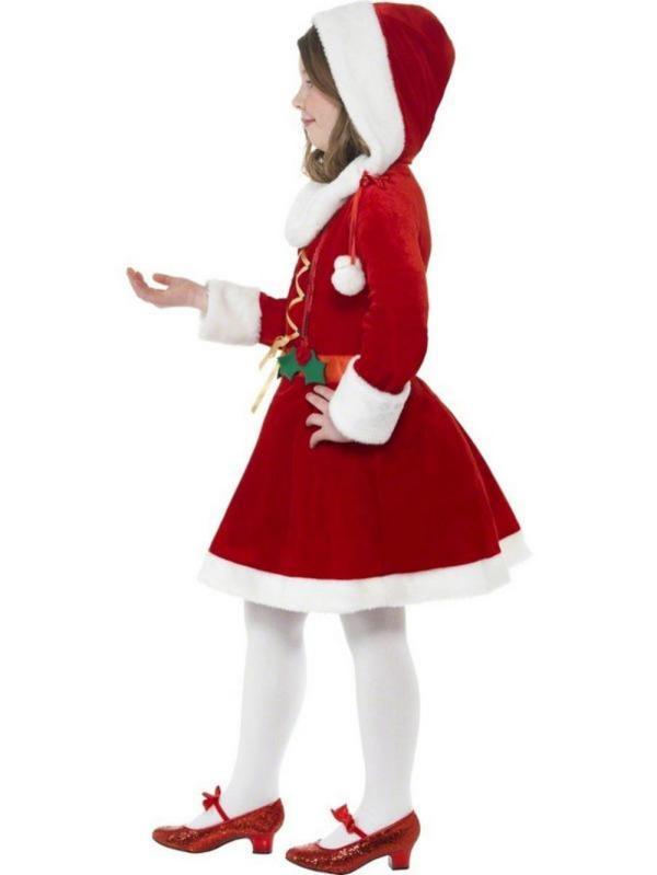 Kids Santa Christmas Fancy Dress Costume