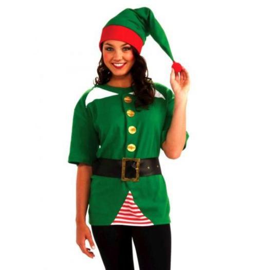 jolly elf kit christmas costume novelty costumes mega - Christmas Elf Makeup