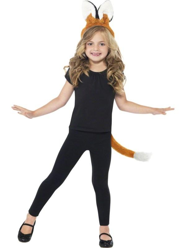 Fox Kit Costume Girl' World Book Day Fancy Dress