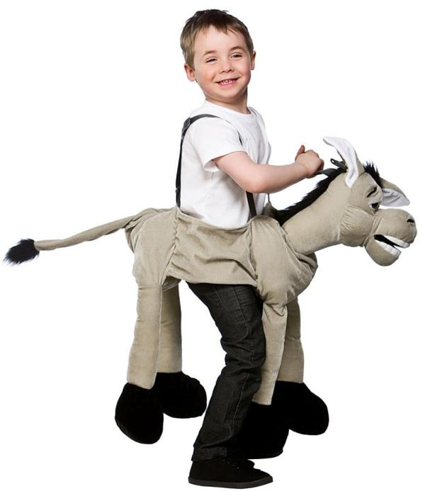Ride Donkey Costume Kids Christmas Costumes Mega