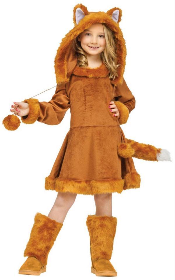 Kid' Sweet Fox Girl' World Book Day Fancy Dress