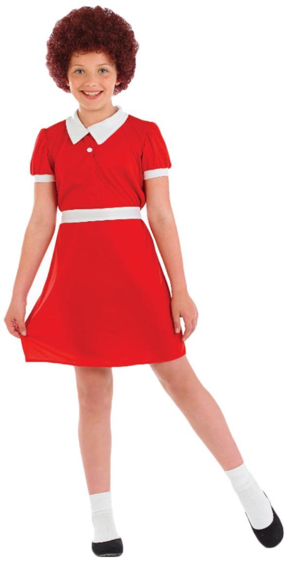 """Little Orphan Girl Costume Letter """""""" Costumes Mega"""