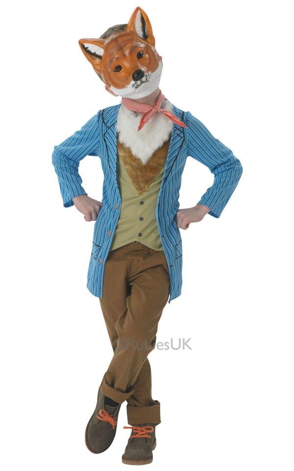 Boys Fox Costume Tv Book And Film Costumes Mega