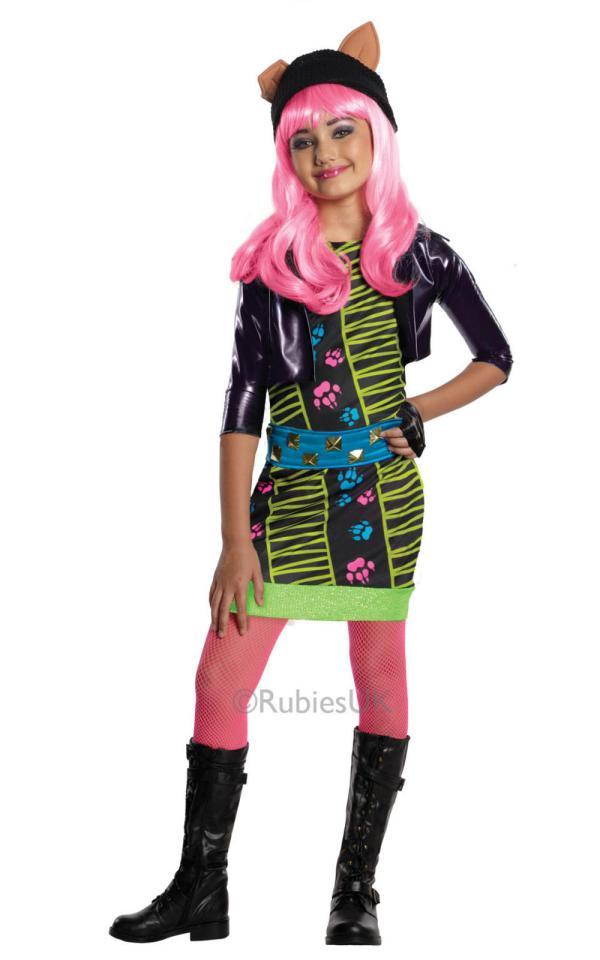 Howleen Monster High Costume Halloween Mega Fancy