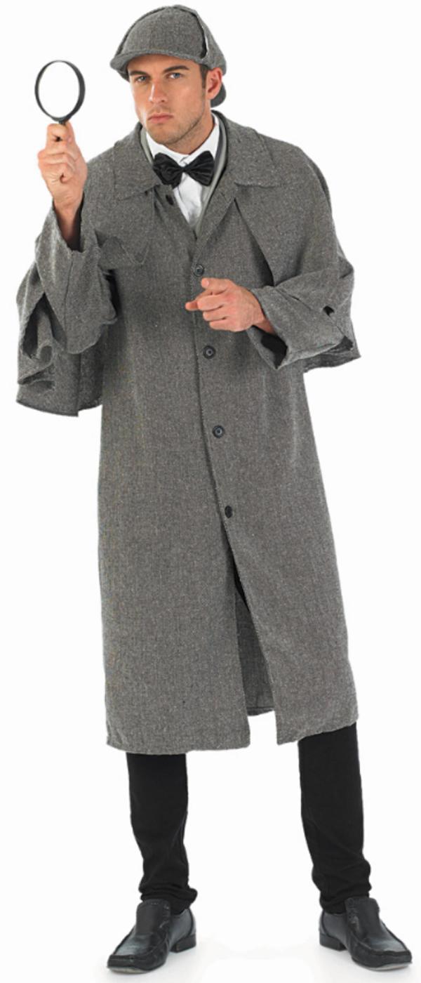 "Victorian Detective Mens Costume Letter """" Costumes"