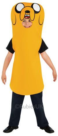 Kids Jake The Dog Costume   Kids Costumes   Mega Fancy Dress