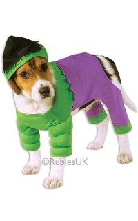"Hulk Pet Dog Costume | Letter ""H"" Costumes | Mega Fancy Dress"