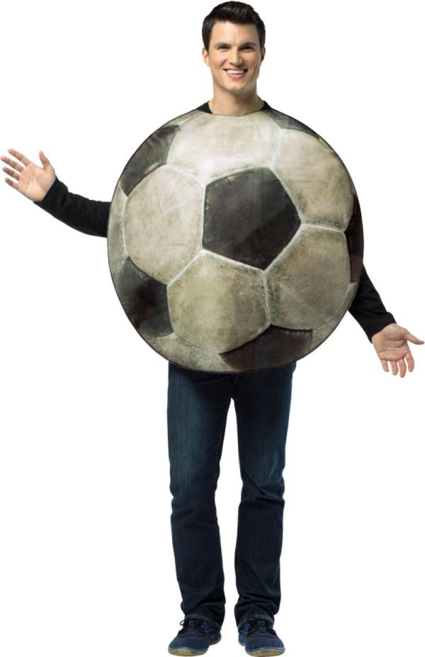 """Realistic Football Mens Costume Letter """""""" Costumes"""