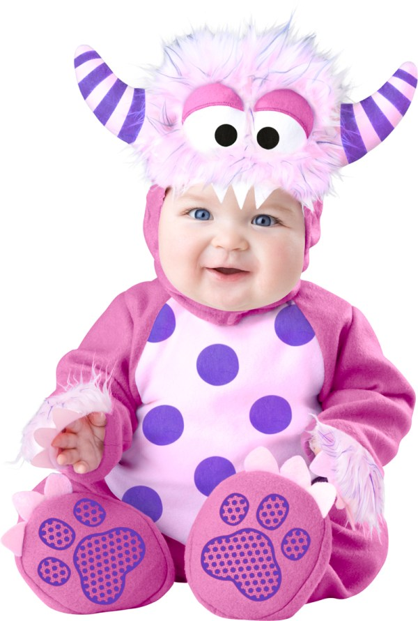 Pink Monster Baby Costume Kids Halloween Costumes Mega