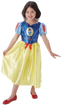 Fairytale Snow White Girls Costume | Girl's World Book Day ...