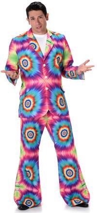 Tie Dye Suit Mens Costume | 60s Costumes | Mega Fancy Dress
