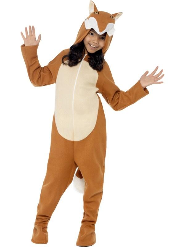 Fox Kids Costume Kinder Karneval Kost Mega Fancy Dress