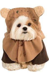 Ewok Pet Dog Costume   Star Wars Fancy Dress Costumes ...