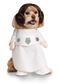 Princess Leia Pet Dog Costume | Star Wars Fancy Dress ...