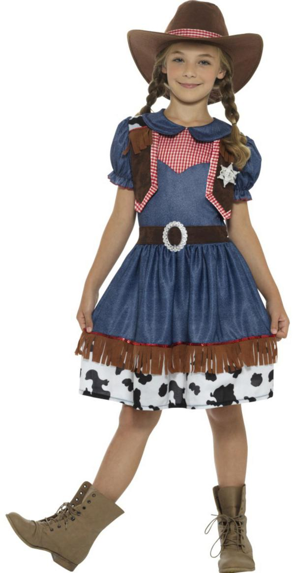 Texan Cowgirl Girls Costume Tv Book And Film Costumes