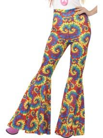 Flared Trousers 60s & 70s Accessories Mega Fancy Dress